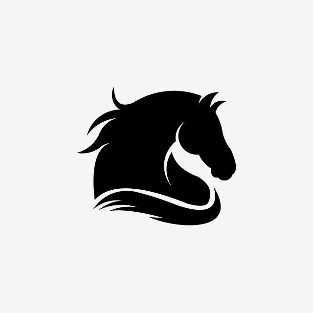 Inspiracao Cabeca De Cavalo Ilustracao Logotipo Simbolo Esporte Time Mascote Cabeca Emblema Animal Selvagem Clipart De Cavalo Preto E Branco Icones Da Equipe Horse Logo Design Horse Logo Horse Silhouette