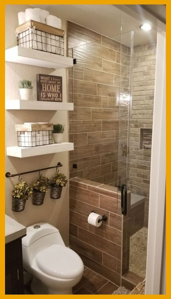 12 Stylish Functional Bathroom Decor Ideas The Unlikely Hostess Tiny Bathroom Remodel In 2020 Bathroom Decor Apartment Simple Bathroom Bathrooms Remodel