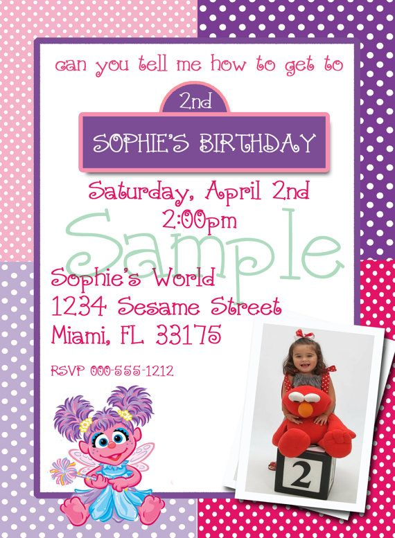 30 best Abby Cadabby birthday images – Abby Cadabby Birthday Invitations