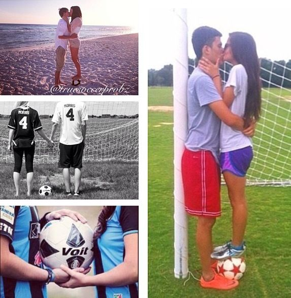 Getting the best of both worlds!⚽ #soccer #couples