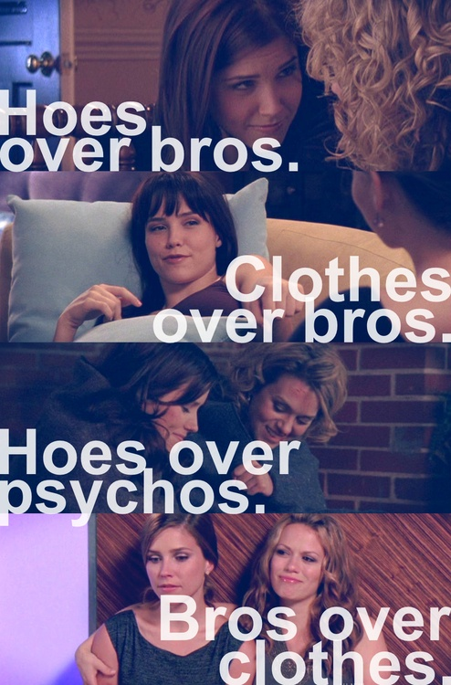 """The evolution of """"hoes over bros."""""""