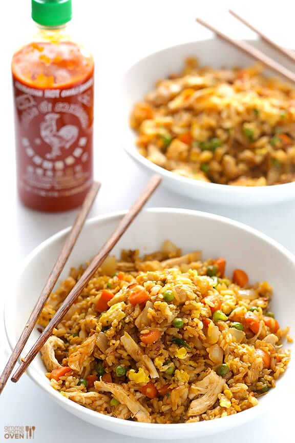 Spicy Chicken Fried Rice Recipe Cooking Recipes Spicy Chicken