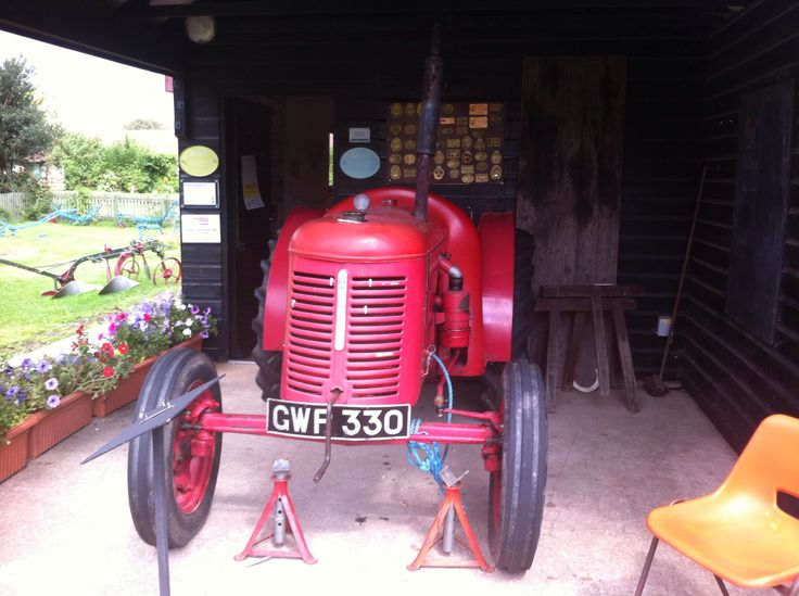 David brown tractor a crop master from the 1950s