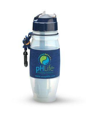 pH Life Filtered Water Bottle  28 oz * Visit the image link more details.