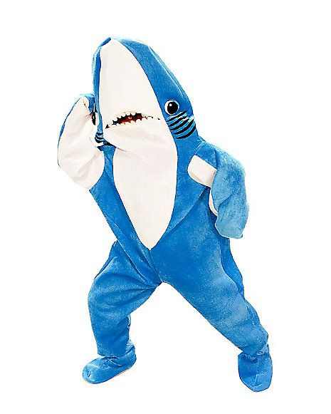 Katy Perry Left Blue Shark Adult Costume - Spirithalloween.com