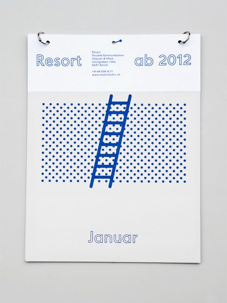 ockupationsmakt:  Resort Kalendar by Resort Studio