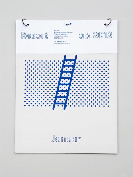 ockupationsmakt:  Resort Kalendar by Resort Studio