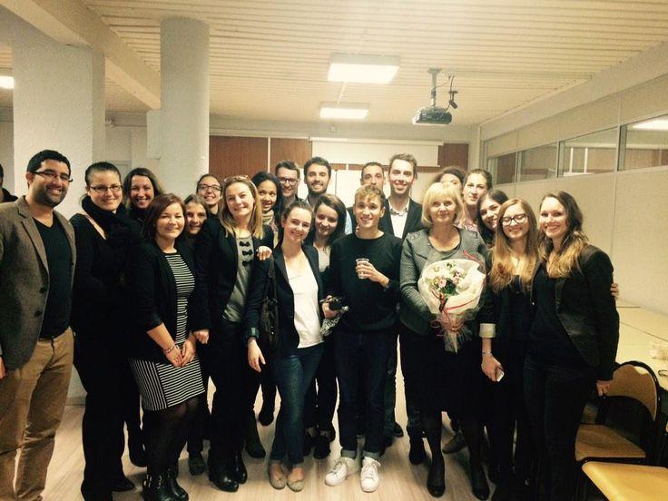 Joyeux anniversaire à Gaëtane Gambier-Thurot, fondatrice de l'Escaet !