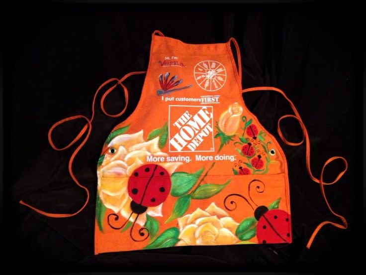 Home Depot Aprons By Artist Courtney Rogers PAGE For Spring  Www.facebook.com/