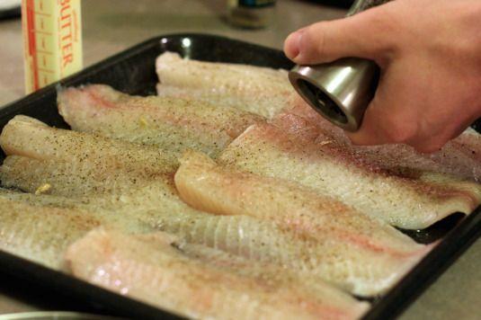 Basic white sauce for fish