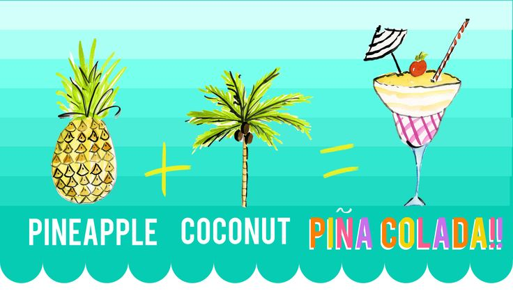 We like pina coladas and getting caught in the rain.  Easy, delicious recipe we're obsessed with.