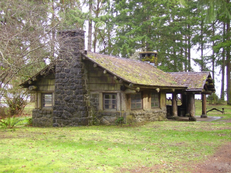 Twanoh State Park down on Hood Canal, WA state. Just beautiful and practical too. Place to picnic.