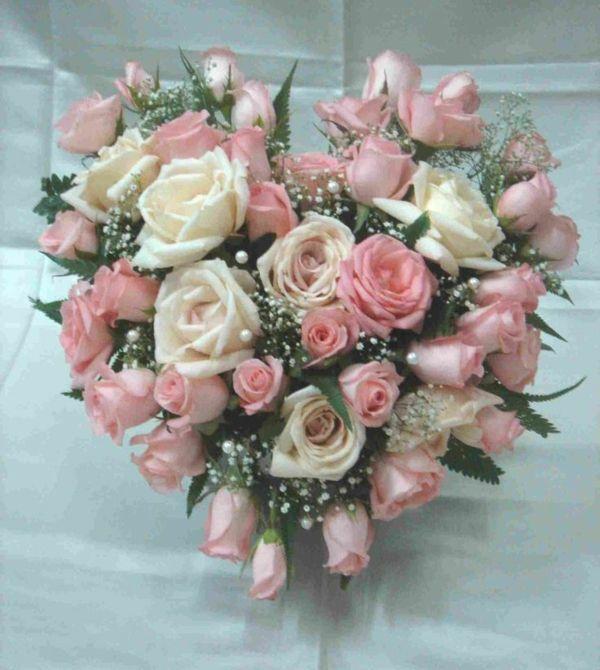 blumen verschicken valentinstag günstig rosa rosen