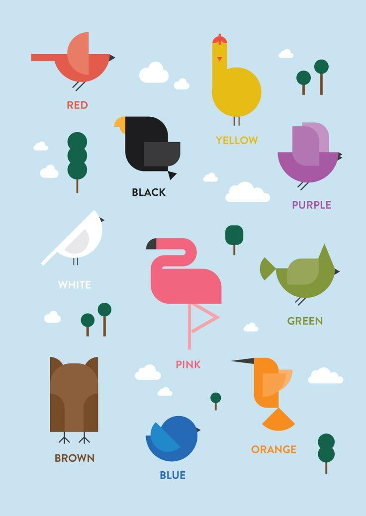 free download - modern bird print