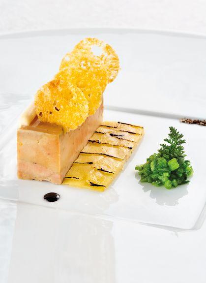 Une recette de Serge VIEIRA - Bocuse d'Or 2005.Pour 4 personnes.Crédits photo Pierre Soisson.