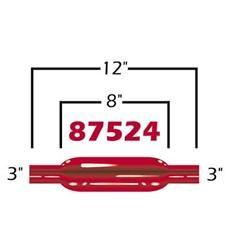 Cherry Bomb 87524CB - Cherry Bomb Glasspack Mufflers
