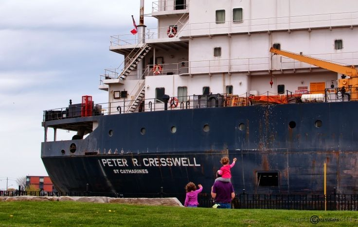 Ship at Welland Canal
