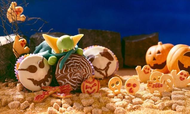 rezept-Halloween-Muffins für Kinder