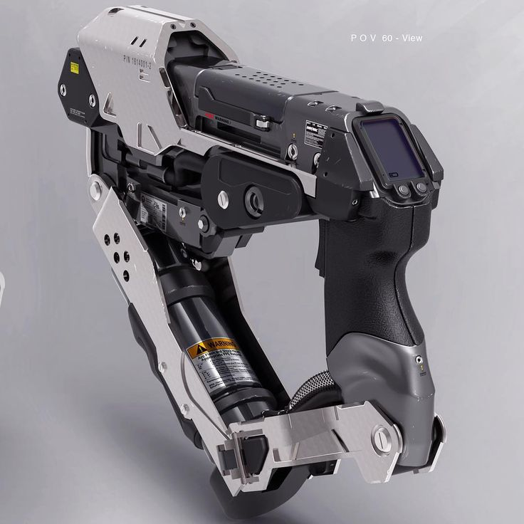"""Personal Arc Welder design for Star Citizen #concept #design #industrial #future #scifi"