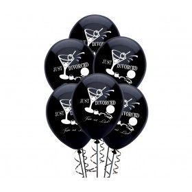 Just Divorced, Free at Last Balloons (6 pcs) *BEST SELLER*