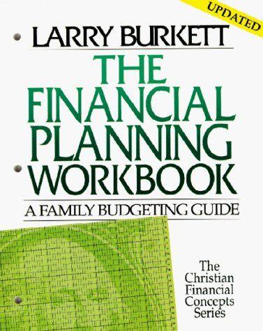 Larry Burkett Financial Planning Workbook
