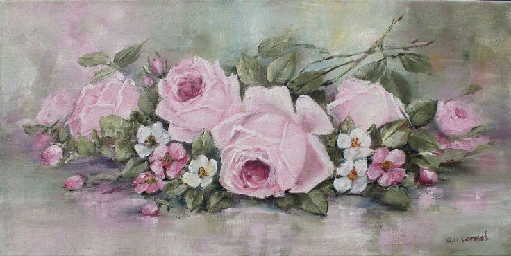 Винтажно-цветочное в нежно розовом | Gail McCormack.. Обсуждение на LiveInternet - Российский Сервис Онлайн-Дневников