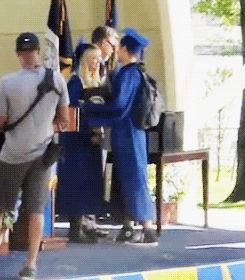 This kiss wasn't even scripted. Andrew just missed his girlfriend, dammit. | 21 Reasons Why Andrew Garfield And Emma Stone Were The Cutest Couple Of 2013