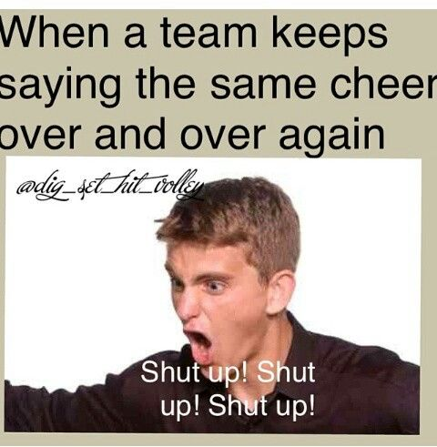 super annoying when teams do this or copy the exact cheer your team just did