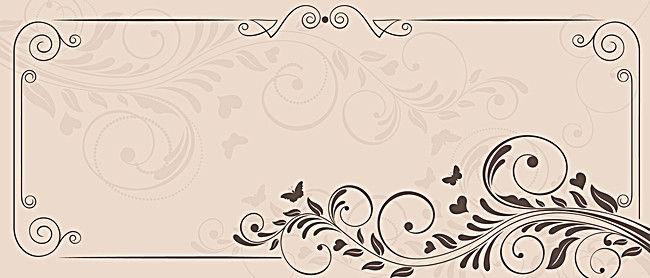 الأزهار الحدود الإطار الرجعية الخلفية Retro Background Colorful Backgrounds Art Background