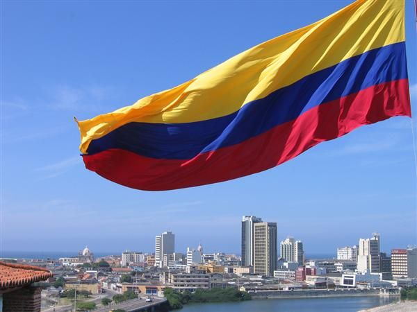 Colombia, my wonderful birthplace & home to so much of my family
