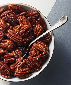 ... on Pinterest | Low calorie snacks, Spiced pecans and Candied nuts