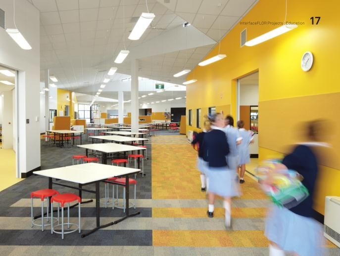 If You Wander Through The Welcoming Interior Of A Well Designed School Its Difficult To Picture Dull Monochrome And Echoing Places Many Educational
