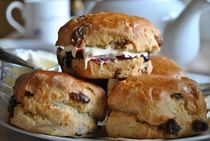 Sweet or savoury home made scones for afternoon tea can be made quickly and easily as you can see in this traditional British recipe and they are delicious both hot or cold.
