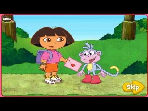 Apprendre les nombres, Dora en francais, Dora dessin animé