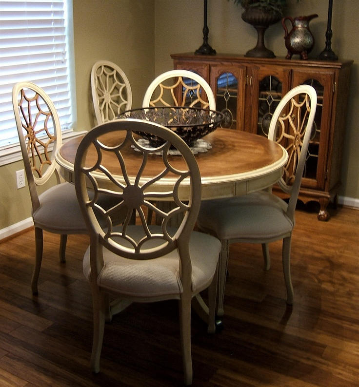 Repurposed free table dining chairs decorating ideas for Repurposed dining table