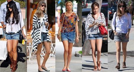 Удлиненные шорты с чем носить