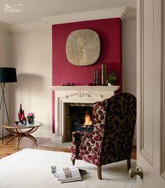 Dulux Feature Wall matt paint - Redcurrant Glory
