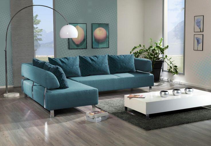 Woonkamer Turquoise ~ Referenties op Huis Ontwerp, Interieur ...