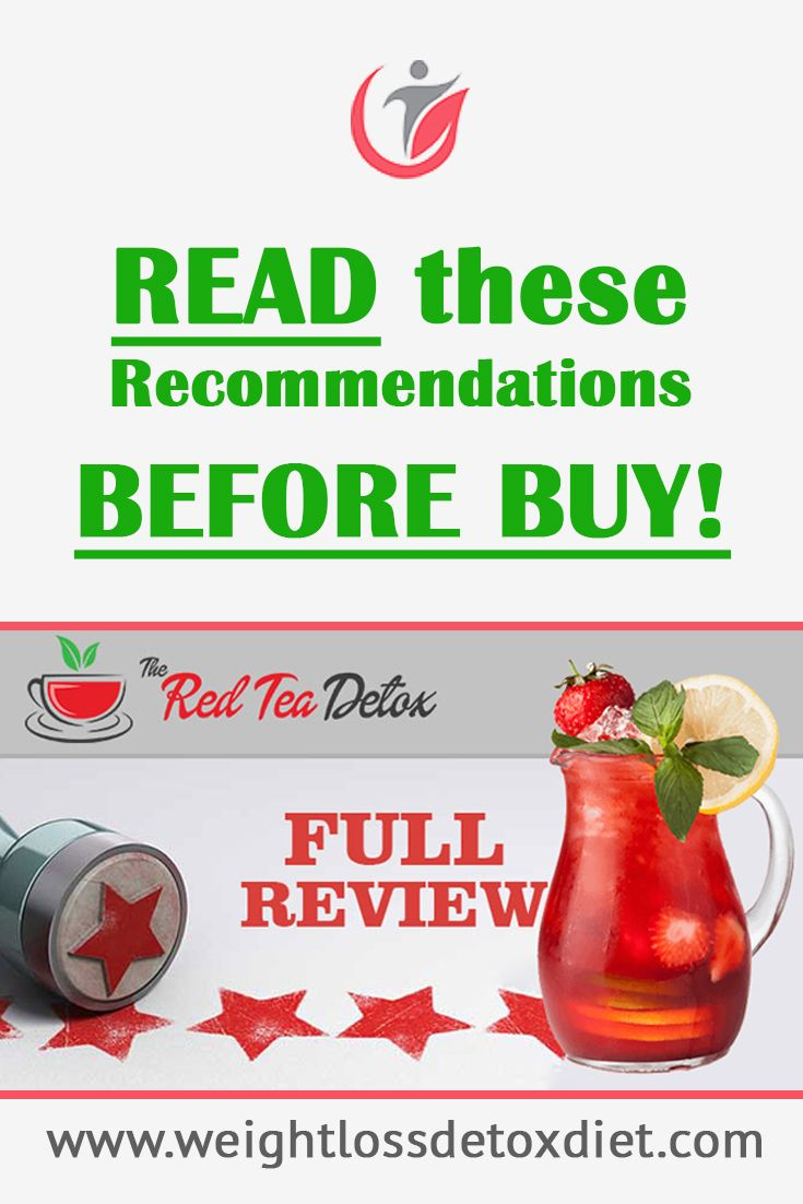 The Red Tea Detox Plan complete Review - Read these