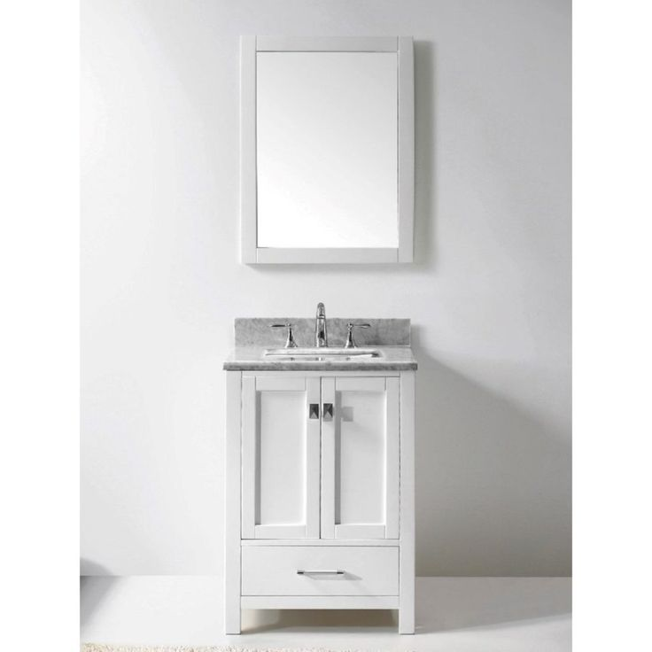 24 White Bathroom Vanity best 25+ 24 inch bathroom vanity ideas on pinterest | 24 bathroom