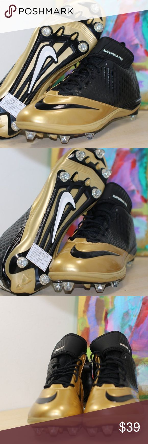 Nike Lunar Superbad Pro TD Mid Mens Football Cleat Nike Lunar Superbad Pro TD Mid Mens Football Cleats 544762 020 Gold Black Sz 16  New without box Thank you for viewing our posh store if you have any questions please do not hesitate to ask questions about the items you want to buy. We are constantly working on improving our customer service and overall satisfaction. Follow our posh store for updates and deals, thank you for supporting us. Nike Shoes Athletic Shoes