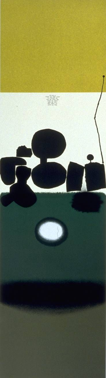 Victor Pasmore, 'Hear the Sound of a Magic Tune' 1974