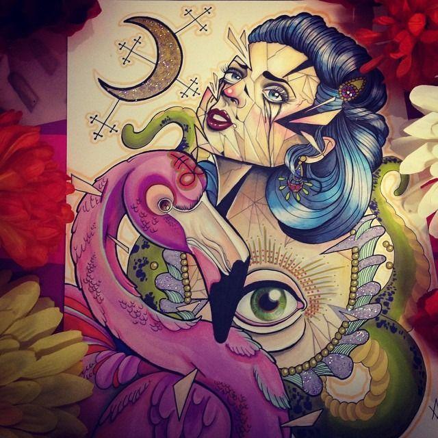 serpent tattoo | Tumblr –