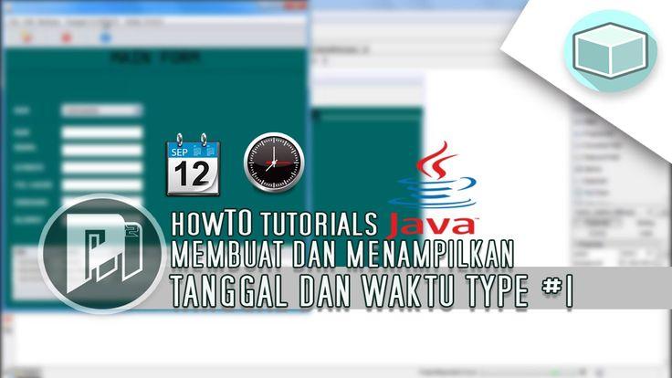 Program Java Netbeans - Menampilkan Tanggal(Date) dan Waktu(Time) #1