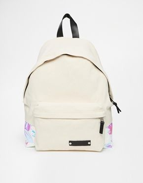 Eastpak Padded Pak'r with Hologram in White