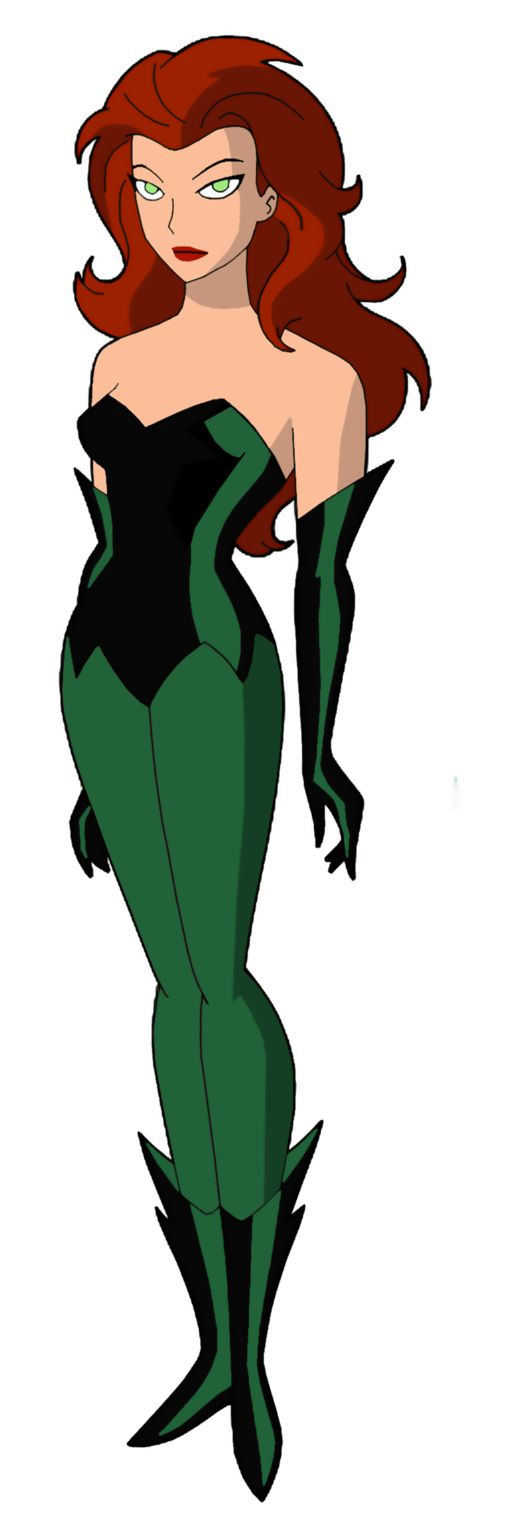 Poison Ivy Bruce Timm Style New Look by NoahLC.deviantart.com on @DeviantArt