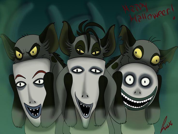 halloween disney fanart