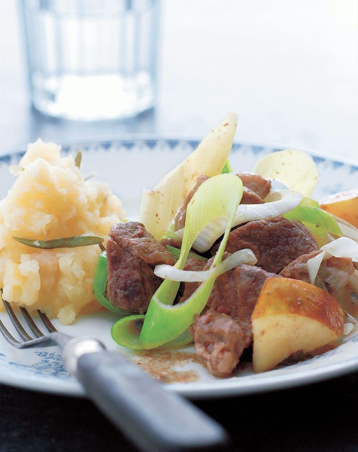 Lamb stew with rosemary mash recipe from The Scandinavian Cookbook by Trine Hahnemann | Cooked