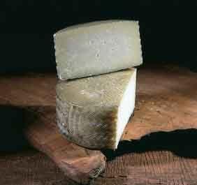 Castilla/León Queso Castellano--El sabor es muy franco, bien equilibrado, ligeramente ácido, y con un punto correcto de sal, algo granulado pero muy mantecoso al paladar y con aroma de oveja.Es el típico queso para masticadores con una textura compacta pero bien mantecosa. Es perfecto para saborear con vinos de la Ribera del Duero, rosados de Cigales y también blancos de Rueda bien frescos.