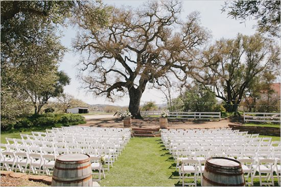 ceremony at The Historic Santa Margarita Ranch http://www.weddingchicks.com/2013/09/06/the-historic-santa-margarita-ranch/
